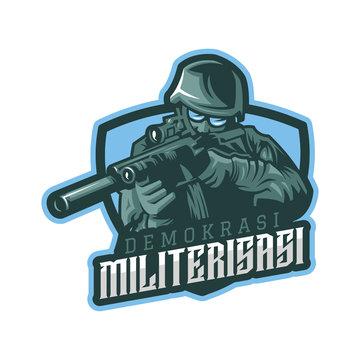 esports logo US Army shooter game team