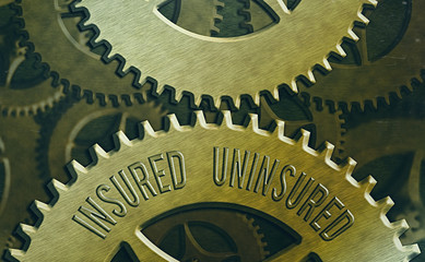 Handwriting text Insured Uninsured. Conceptual photo Company selling insurance Checklist to choose from