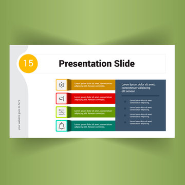 Abstract Business Powerpoint slides presentation template.
