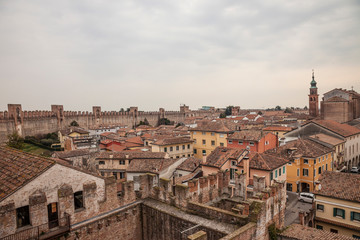 Cittadella, fortified walled town in Veneto - Italy