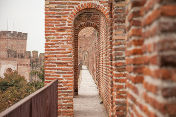 Cittadella, fortified walled town in Veneto - Italy.