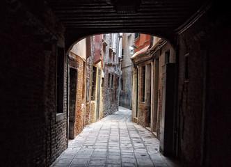 Keuken foto achterwand Smal steegje Narrow Alley