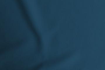 Dark blue folded cloth texture, wavy fabric wallpaper Fotomurales