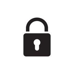 padlock icon design vector illustration