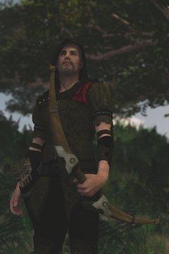 3D Robin Hood in Sherwood Forest