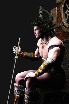 3D Barbarian King