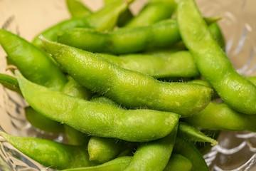 茹でたての美味しい枝豆