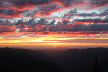 Dramatic Sunset Sky - fototapety na wymiar