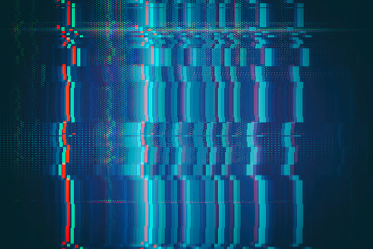 Test Screen Glitch abstract Texture