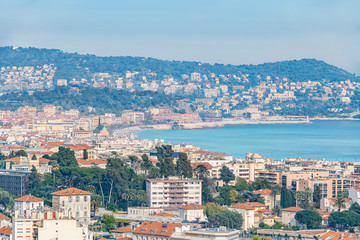 Wall Mural - City of Nice in the French Riviera