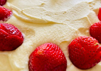Strawberry with Mascarpone cheese