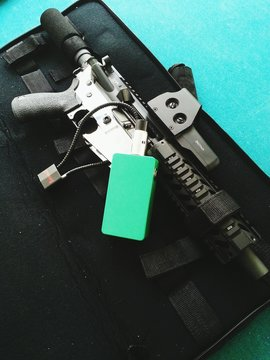 Close Up Of Ar Pistol