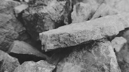 Obraz High Angle View Of Rocks - fototapety do salonu