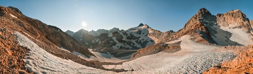 Foto auf Acrylglas Grau Verkehrs Pyrénées - Parc naturel de Posets-Maladeta