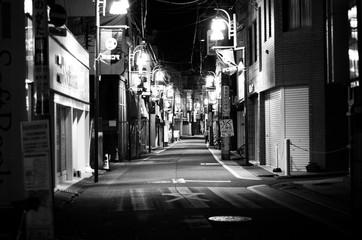 Keuken foto achterwand Smal steegje Narrow Alley In City