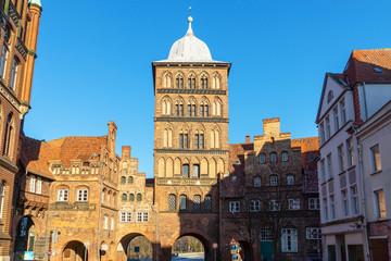 Burgtor in Lübeck, Deutschland