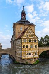 Altes Rathaus in Bamberg, Oberfranken, Deutschland