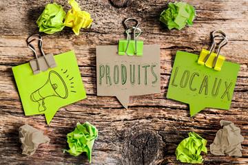 post it vert : produits loaux