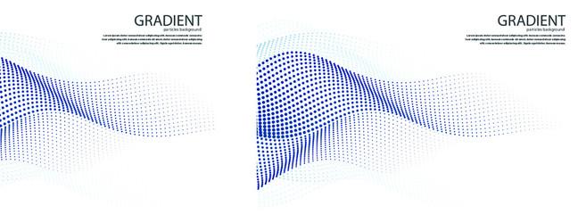 Gradient Particles Vector