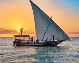 The Beaches Of Kendwa(Zanzibar). The stunning beauty of the sunsets.