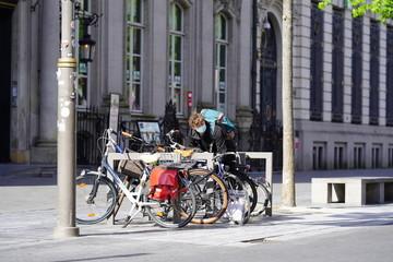 Papiers peints Londres bus rouge exit antwerp covid-19 virus street Photography