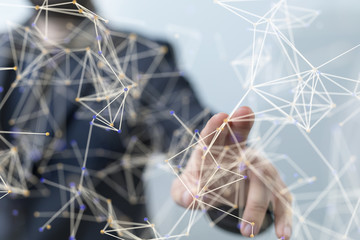 internet net and data digital concept.