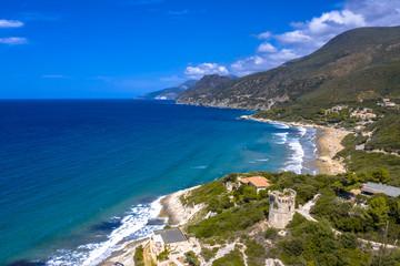 Wall Mural - Aerial Cap Corse