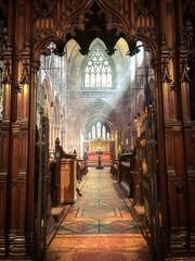 Fototapeta Interior Of Chester Cathedral obraz
