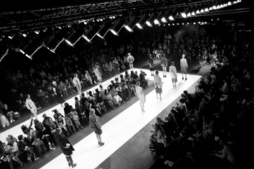 Wall Mural - Fashion Show, Catwalk Runway Event, Fashion Week themed photograph. Blurred on purpose, out of focus.