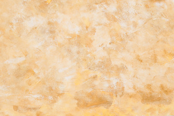 Beige acrylic grunge texture for background