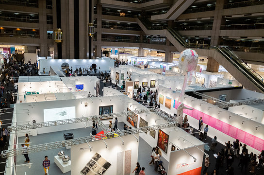 Art Taipei Expo is the landmark of Asian