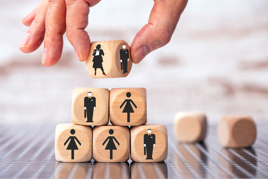 choice between businessman or businesswoman as CEO