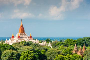 Fototapete - Bagan, Myanmar Ancient Temples