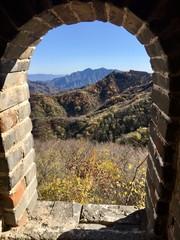 Papiers peints Muraille de Chine Gate in Great Wall