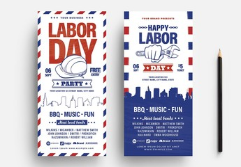 DL Rack Card for Labor Day Promotion