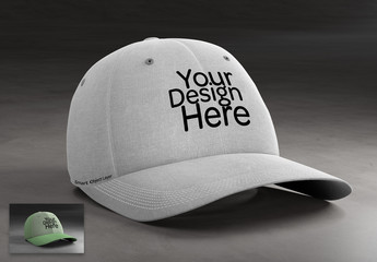 Mockup of a Baseball Cap