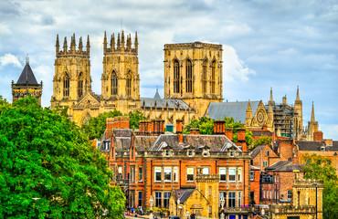 York Minster in England Fototapete