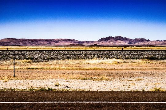 Colorful Railroad Horizon