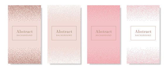 Abstract pastel patterns for social media story, poster Wall mural