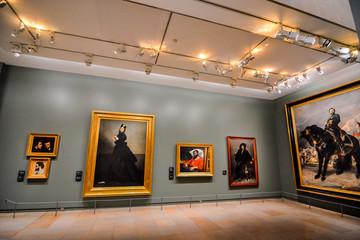 Editorial picture of Orsay Romantic Museum in Paris taken in date 25 december 2018