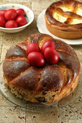 dolci Pasquali tradizionali della religione Ortodossa