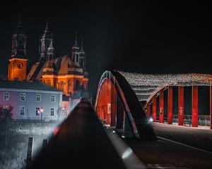 Obraz Pienknie miasto Poznan.Zapraszamy. - fototapety do salonu