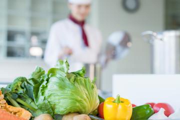野菜 キッチン