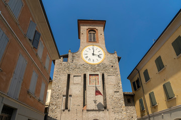 Fotomurales - San Polo d Enza, Italy: historic buildings