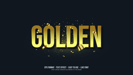 Printed kitchen splashbacks Textures Gold Writing Illustrations Vector Text Effect