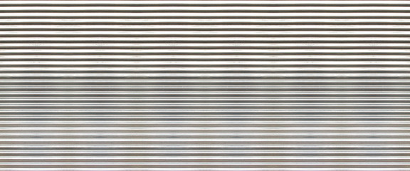 white new corrugated metal texture surface