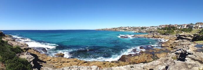 Panoramic View Of Coastline