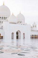 Sheikh Zayed Grand Mosque, Abu-Dhabi, UAE
