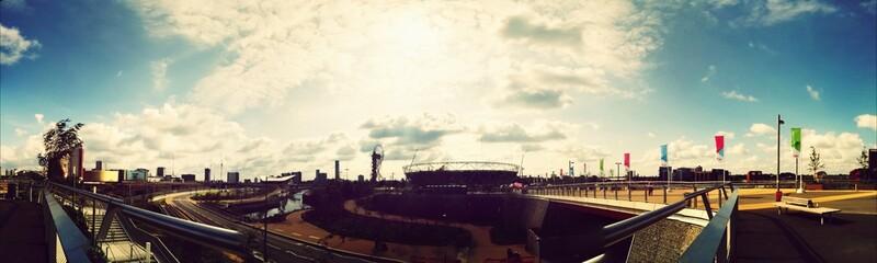 Panoramic View Of Queen Elizabeth Olympic Park - fototapety na wymiar