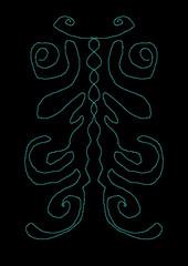 Fototapeta Wzór symetryczny obraz